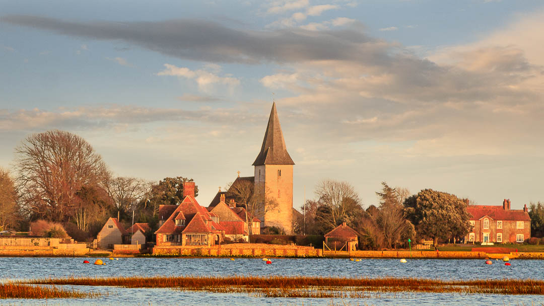 View of Bosham, West Sussex