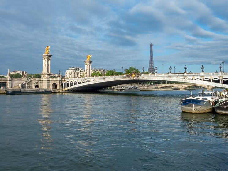 Pont Alexandre III and the Eiffel Tower, Paris